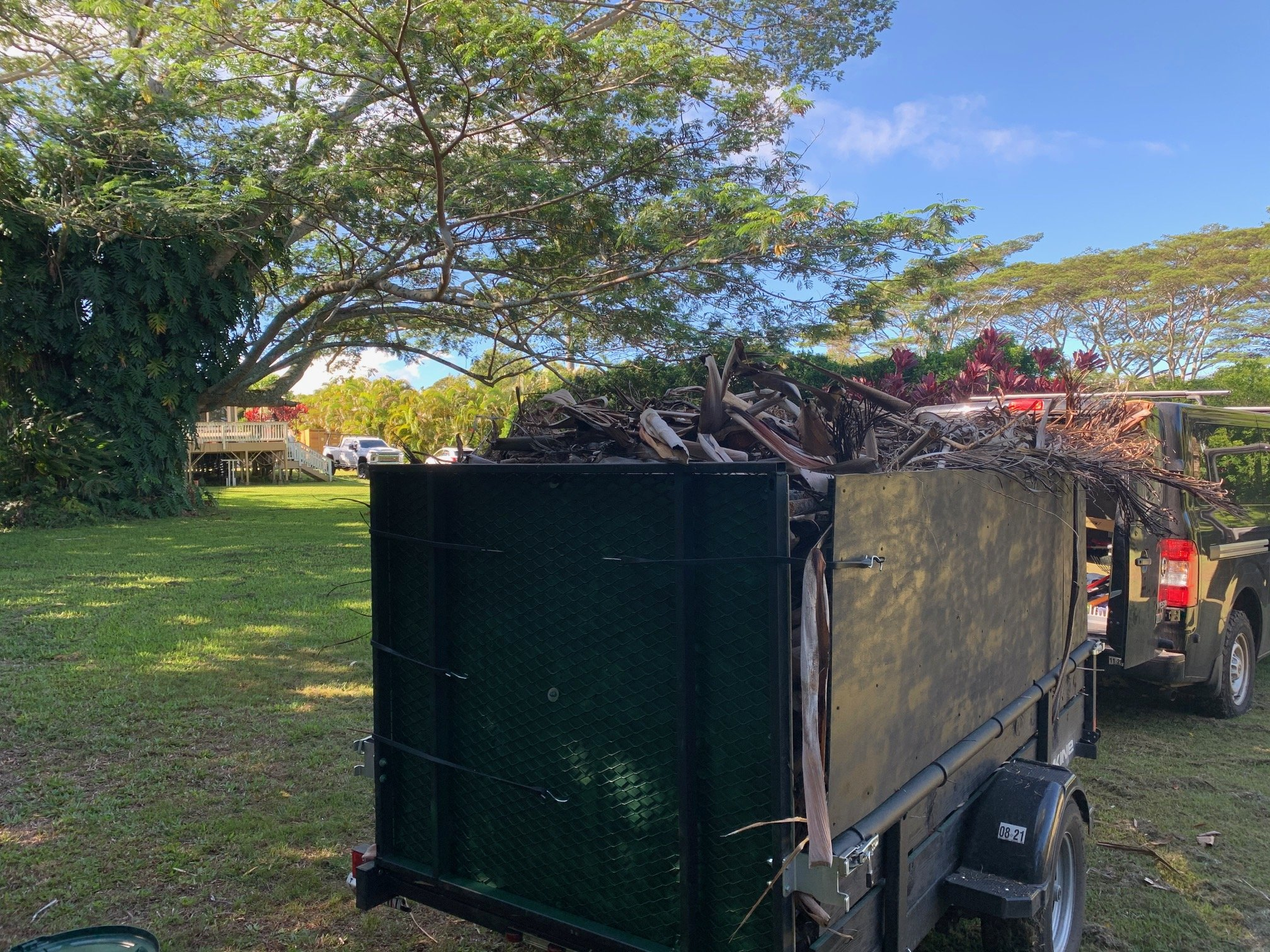 maui yard waste removal hauling disposal recycling composting