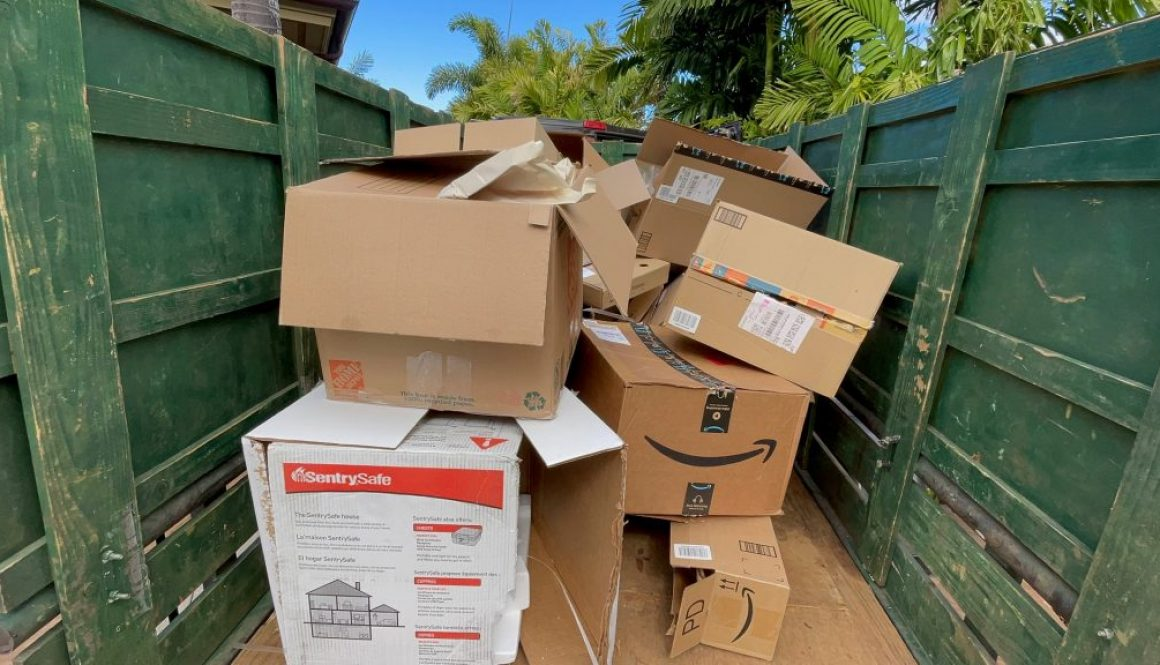 maui moving boxes removal